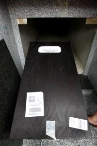 Recuperación el cuerpo de un familiar muerto con la División Azu