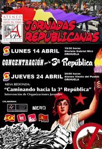 CARTEL JORNADAS REPUBLICANAS