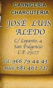 CARNICERÍA - CHARCUTERÍA J.L. ALEDO