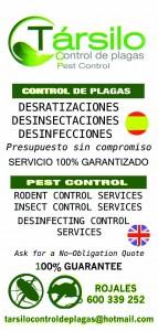 TÁRSILO-CONTROL DE PLAGAS