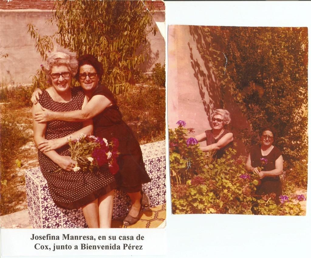 Josefina Manresa y Bienvenida Perez (1)