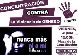 violencia 31 julio 2