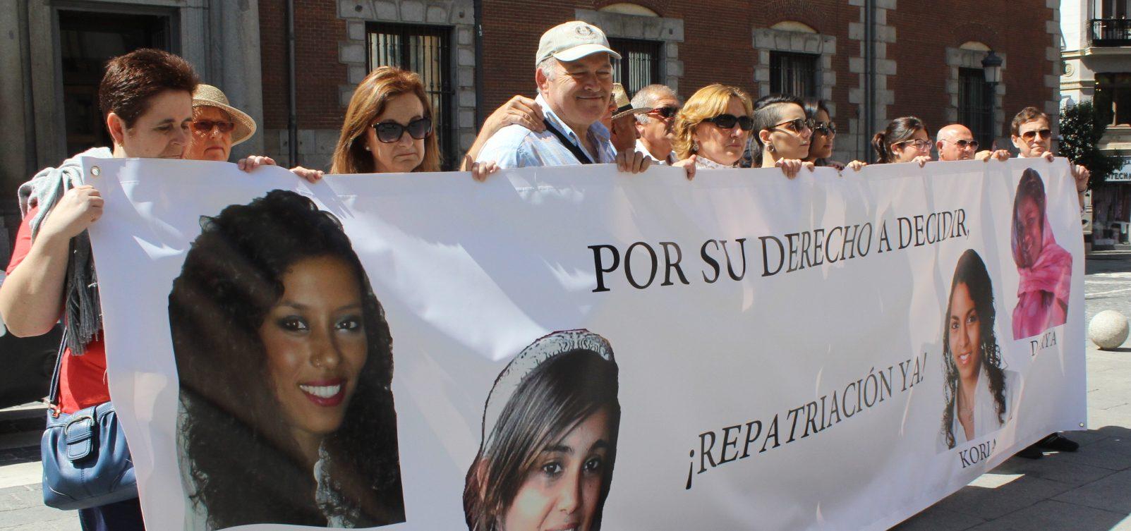 Concentración en Madrid el pasado mes de mayo