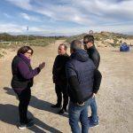 El grupo popular visita La Marina para apoyar a los vecinos en sus reivindicaciones contra la imposición del Pativel por parte de la Conselleria