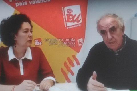 EUPV no apoya las conclusiones de la Comisión del Pacto del Agua