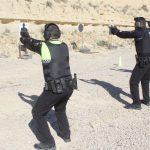 La plantilla de la Policía Local de Rojales inicia prácticas de tiro con fuego real simulando situaciones de estrés y tensión