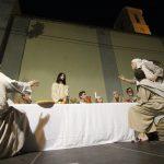 Guardamar recupera la escenificación de la Santa Cena  tras medio siglo sin representarse