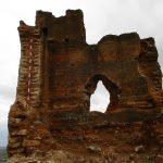 Patrimonio Histórico analiza los daños del derrumbe de una parte de la Torre Taifal del Castillo de Orihuela