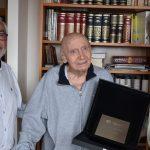 El rojalero Alberto González Vergel recibe la distinción de Académico de Honor de la Academia  de las Artes Escénicas  de España