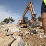 La CHS autoriza  ahora la rotura del dique central de la desembocadura del Segura para aumentar el desagüe de las zonas inundadas de la comarca