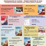 La concejalía de Desarrollo Local de Rojales programa para el primer semestre de 2020 siete acciones formativas gratuitas y una subvencionada